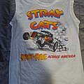 Stray Cats - TShirt or Longsleeve - Stray cats rant n rave 1983 muscle