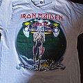 Iron Maiden - TShirt or Longsleeve - Iron maiden  World tour 87