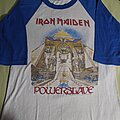 Iron Maiden - TShirt or Longsleeve - Iron maiden powerslave 1984