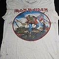 Iron Maiden - TShirt or Longsleeve - Iron maiden british metal onslaught 1983 , thrashed