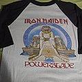 Iron Maiden - TShirt or Longsleeve - Iron maiden powerslave 1984 tour