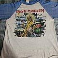 Iron Maiden - TShirt or Longsleeve - Iron maiden world tour killer 1981