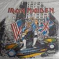 Iron Maiden - TShirt or Longsleeve - Iron maiden 1987 new york