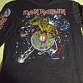 Iron Maiden - TShirt or Longsleeve - Iron maiden world piece tour 1983 long sleeve