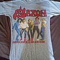 Saxon - TShirt or Longsleeve - Saxon innocence is no excuse tour 1985