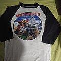 Iron Maiden - TShirt or Longsleeve - Iron maiden phantom of the opera 1986