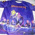 Megadeth allover bootleg