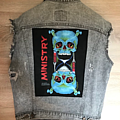 1992 Ministry Backpatch and Levis Denim vest