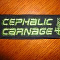 Patch - Cephalic Carnage Patch