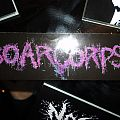 Other Collectable - Purple Boarcorpse Logo Sticker