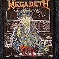 Megadeth Holy Wars original patch