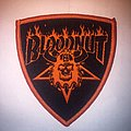 Bloodnut Shield Patch (thrasher logo takeoff)