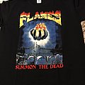 FLAMES - TShirt or Longsleeve - flames - summon the dead - size l