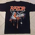 Razor - Violent Restitution T-Shirt