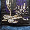 Lamb Of God - Patch - Lamb of God Sacrament patch