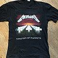 Metallica - Master Of Puppets - European Tour Shirt '86