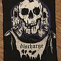 Discharge - Patch - Discharge - Three Skulls Back Patch