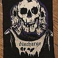 Discharge - Three Skulls Back Patch