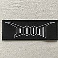 Doom Logo woven patch.