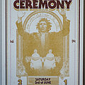 Blood Ceremony - Other Collectable - Blood Ceremony - Gigposter, Hannover Lux 2017