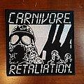 Carnivore - Retaliation patch