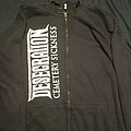 Desecration Cemetery Sickness Hoodie  Hooded Top