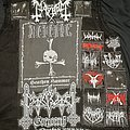 Current progress on my black metal Battle Jacket
