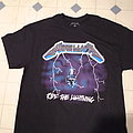 Metallica Ride the Lightning shirt