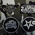 Nunslaughter Satanic Warmaster patches