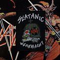 Slayer Slatanic Wehrmacht woven patch