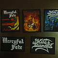 Mercyful Fate King Diamond patches