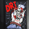 Dirty Rotten Imbeciles - Patch - D.R.I. patch diy custom high quality printed, Dirty Rotten Imbeciles