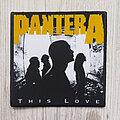 Pantera - Patch - Pantera patch diy custom high quality printed, This Love