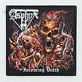 Asphyx - Patch - Asphyx patch diy custom high quality printed, Incoming Death