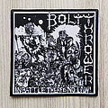 Bolt Thrower - Patch - Bolt Thrower patch diy custom high quality printed, In Battle There Is No Law