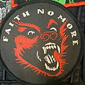 Faith No More - King for a day..woven circle patch