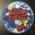 Nuclear Assault - Patch - Nuclear Assault- Handle with care woven circle patch