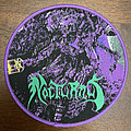 Nocturnus - Patch - Nocturnus - The Key circle patch. Purple border