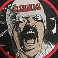 Scorpions- Blackout  woven circle patch