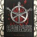 Carcass- Heartwork woven patch