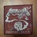 Metallica - Patch - Metallica - Creeping Death woven patch