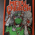 Metal Church - Fake Healer woven patch