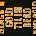 """Crowbar """"Logo/ Black´N´Gold"""" T Shirt 2015"""