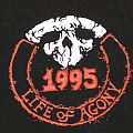 """Life Of Agony - TShirt or Longsleeve - LIFE OF AGONY """"Tour 1995"""" Shirt XL  - """"Remeber the Ones You Left Behind"""""""