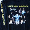"""LIFE OF AGONY """"Ugly"""" Org. 1995 Longsleeeve XL - NEW!!!  Sale OR Trade!!!"""