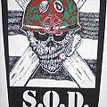 S.O.D.  Org. 1987 Bravado  Backpatch