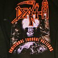 """DEATH """"Individual Thought Patterns"""" Zipper - Reprint - 2012 - XL Hooded Top"""