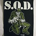 S.O.D. 1991 Org. Megaforce (Copyright) Backpatch
