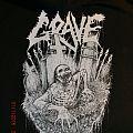 "GRAVE ""Logo + Zombie / Old School"" Zipper  Hooded Top"