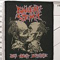 """Pungent Stench """"Been Caught Buttering"""" Org. 1991 woven Patch"""